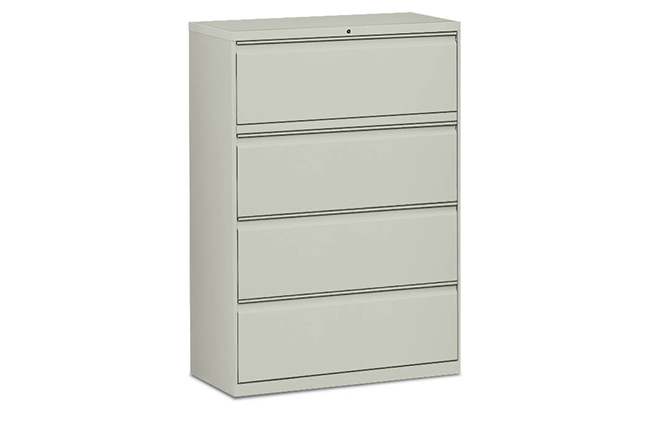 4-high Lateral File Cabinet