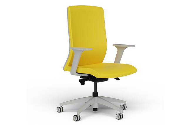 Upholstered Back Task Chair